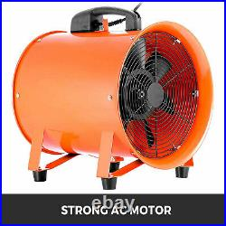 10 Industrial Extractor Fan Blower With Duct Hose Pivoting Chemical Ventilation