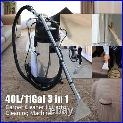 110V Upright Carpet Cleaner Portable Cleaning Machine Vacuum Extractor Efficient