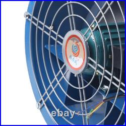 16'' 5400m³/H Ventilator Explosion-Proof Axiale Pipe Fan 110V Extractor Blower