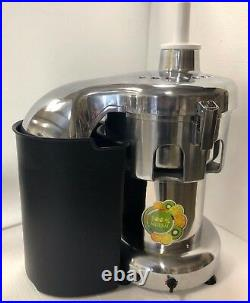 1.5HP Super Power Commercial Juice Extractor-3 In feeding inlet ETL/NSF approval