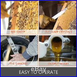 2/4 Frame Electric Honey Extractor Beekeeping Equipment Large Stainless Steel 24