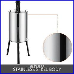 2 Frame Electric Honey Extractor Large Beekeeping Equipment Stainless Steel Tool