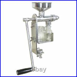304# Stainless Steel Manual Oil Press Machine Oil Expeller Extractor Peanut Nuts