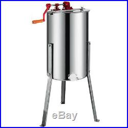 3/6 Frame Honey Extractor Stainless Steel Manual Bee Beekeeping Equipment Tool