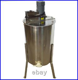 3 Frame Electric Honey Extractor 304 Stainless Steel Beehive Drum Bee 110V Farm