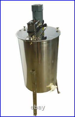 3 Frame Electric Honey Extractor Stainless Steel Beehive Drum Bee 110V Farm New