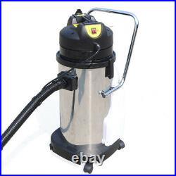 3in1 40L Mobile Carpet Cleaning Machine Cleaner Extractor Vacuum Dust Collector