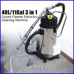 40L Household Cleaning Machine Carpet Sofa Curtain Cleaner Dust Extractor 110V