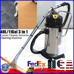 40L Householde Carpet Sofa Curtain Cleaning Machine Dust Extractor Collector110V