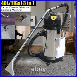 40L Portable Carpet Cleaning Machine Vacuum Cleaner Extractor Dust Collector110V