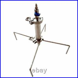 45g Closed Column Pressurized Extractors BHO kit. Extractor stainless steel 304