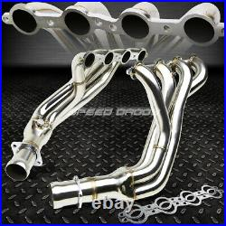 4-1 Tubular Exhaust Manifold Header Extractor For 97-04 Chevy Corvette C5 Ls1/6
