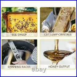 4/8 Frame Bee Honey Extractor Beekeeping Stainless Steel Honeycomb Electric