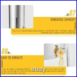 4/8 Frame Honey Extractor Beekeeping Stainless Steel Durable Honey Bee Electric/