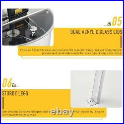 4 Frame Electric Honey Extractor Beekeeping 140W Stainless Steel Honeycomb