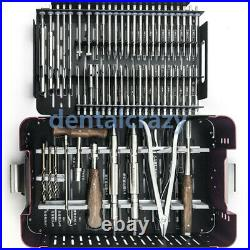 56pcs/set Stainless Steel Broken Screw Extractor Medical Kit Removal Orthopaedic