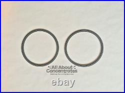 6 Sanitary Stainless Steel 304 90g-135g Closed Loop Extractor Recovery tank