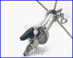 90g closed Column Pressurized Extractors BHO Extractor kit. Stainless steel 304
