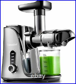 Amzchef Slow Masticating Cold Press Juicer Juice Extractor Machine Higher Yield