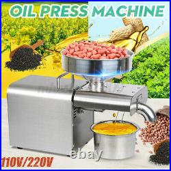 Automatic Oil Press Machine Commerical Oil Extraction Olive Extractor W
