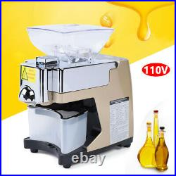 Automatic Oil Press Machine, Stainless Steel Cold Hot Food Grade Oil Extractor