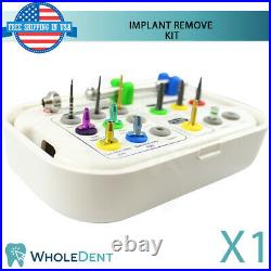 Broken Screw Extractor Total Remove SOS Kit Dental Implant Surgical Tool