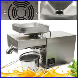 Commercial 1500W Automatic Oil Press Machine Oil Extraction Extractor Expeller
