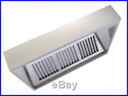 Commercial Kitchen Canopy Extractor Hood 3000mm
