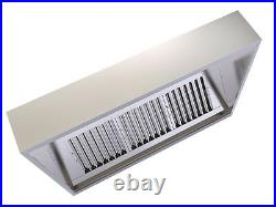 Commercial Kitchen Canopy Hood Extractor System 2000mm