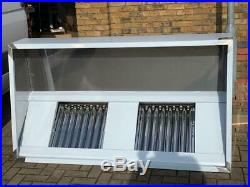 Commercial Kitchen Extractor Stainless Steel Canopy choose size from 2ft 8ft