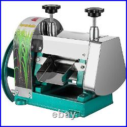 Commercial Manual Sugar Cane Press Juicer Juice Machine Extractor Mill 50kg/h