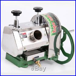Commercial Manual Sugarcane Juicer Sugar Cane Extractor Squeezer Stanless Steel