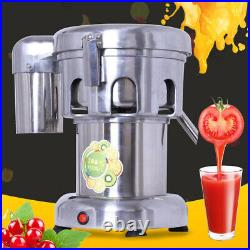 Commercial Stainless Steel Fruit and Vegetable Juice Extractor Juicer Squeezer
