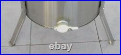 Electric 4 Frame 304 Stainless Steel Honey Extractor Stand Beekeeping Farm New
