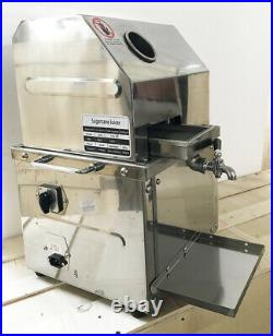 Electric Ginger Sugar Cane Juicer Press Machine Stainless Steel Extractor Bar