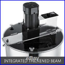 Electric Honey Extractor 2/4 Frame Beekeeping Equipment Stainless Steel 120w
