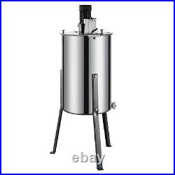 Electric Honey Extractor 2/4 Frame Stainless Steel Beekeeping Equipment Drum