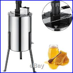 Electric Honey Extractor 3/6 Frame Stainless Steel Beehive Drum Bee Equipment