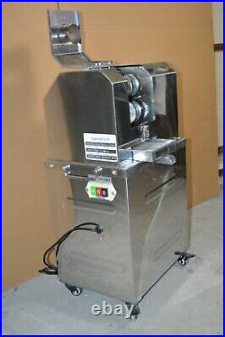 Electric Sugar Cane Juicer Extractor Squeezer Stanless Steel Press 20RPM