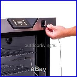 Electric smoker Add on component to separate outdoor kitchen