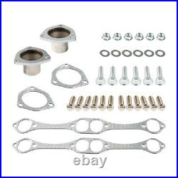 Exhaust Manifold Header Extractor Gaskets& Tubular For Chevy C10/c20 K10/30