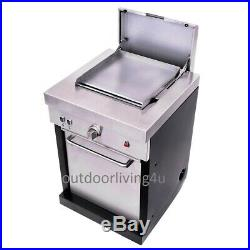 Griddle ADD ON component to separate outdoor kitchen purchase