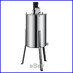 Honey Extractor 3/6 Frame Stainless Steel Electric Beekeeping Equipment 120W