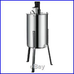 Honey Extractor Large 3/6 Frame Stainless Steel Electric Beekeeping Tool 120W