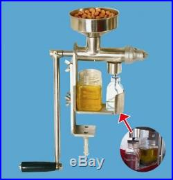 Household Stainless Steel Hand Press Manual Oil Machine Oil Expeller Extractor
