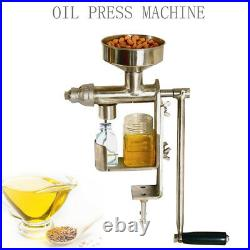 Household Stainless Steel Hand Press Oil Extraction Oil Press Machine Extractor