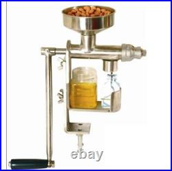 Household manual oil press machine oil expeller Oil Extractor Stainless Steel
