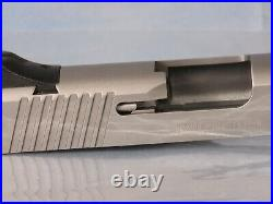 Kimber 1911 5 Stainless Slide for Parts or Repair missing extractor