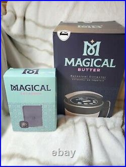 Magical Butter 2 Herbal Butter Maker Extractor Machine With Decarb Bundle NEW