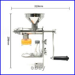 Manual Oil Press Machine Nuts Peanut Sunflower Seed Oil Expeller Extractor